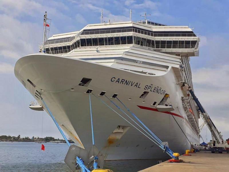 Han llegado a Mazatlán 302 mil turistas navieros