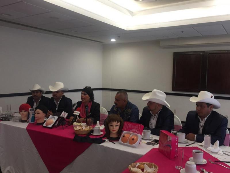 """Impulsan """"Cruzada Rosa"""" en pro de mujeres con cáncer"""