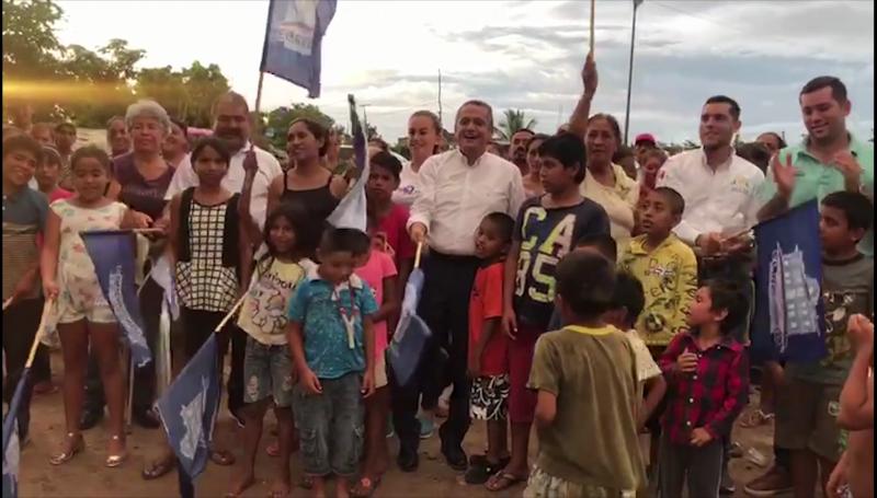 Dan banderazo de inicio para ampliación de energía eléctrica en la colonia Dr. Manuel Pineda