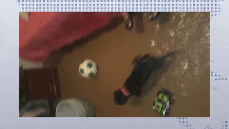 En espera de los apoyos del FONDEN para afectados por inundaciones de la  tormenta IVO en Sinaloa