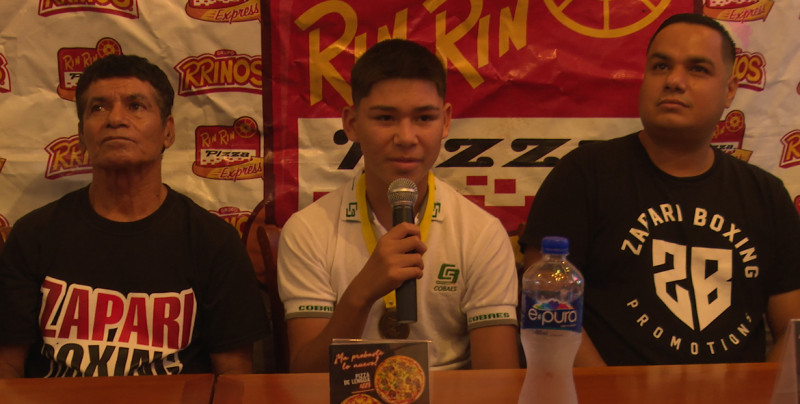 """""""Chinito"""" Amaro, 2019 logra su mejor año como boxeador amateur"""