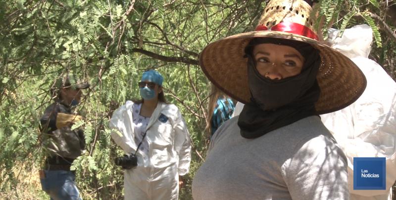 Pide a victimarios no enterrar a sus familiares: Líder de Madres Buscadoras de Sonora