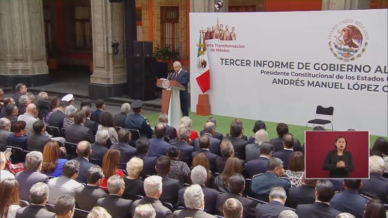 Preocupante los datos a conocer en el informe de López Obrador por falta de crecimiento económico