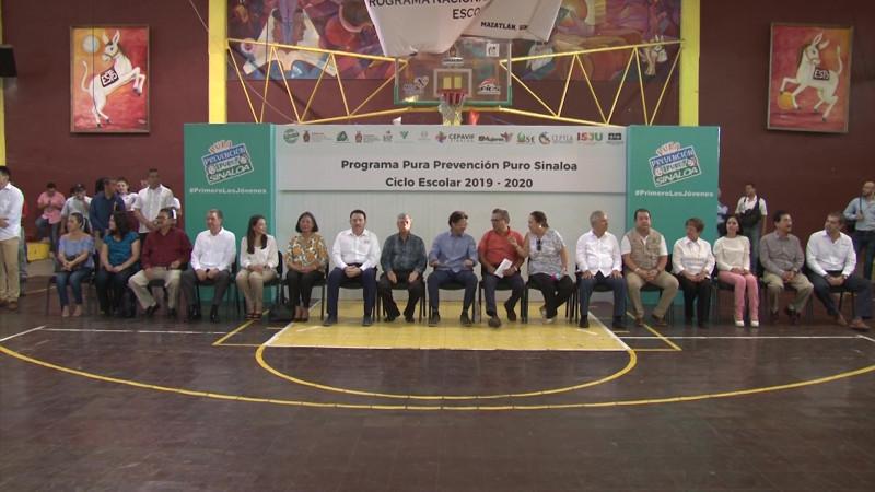 Arranca la segunda parte de Pura Prevención, Puro Sinaloa en Mazatlán