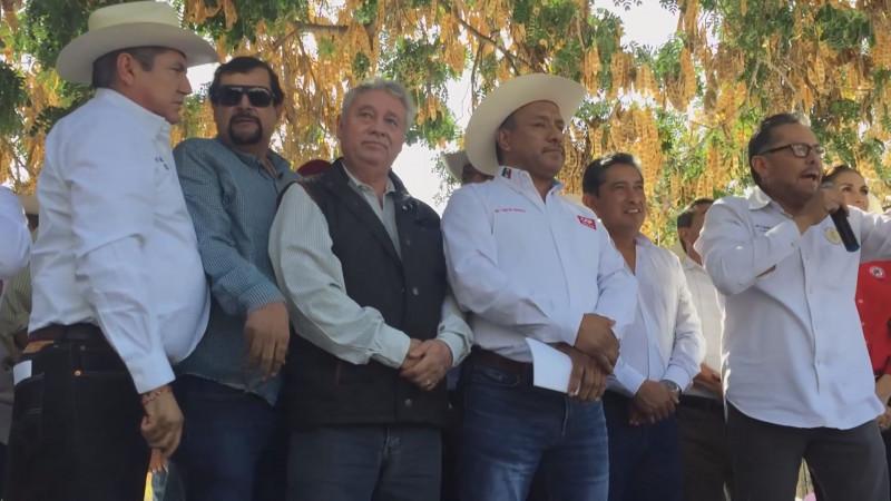 Llama la UARS a productores maiceros a manifestarse en la Ciudad de México