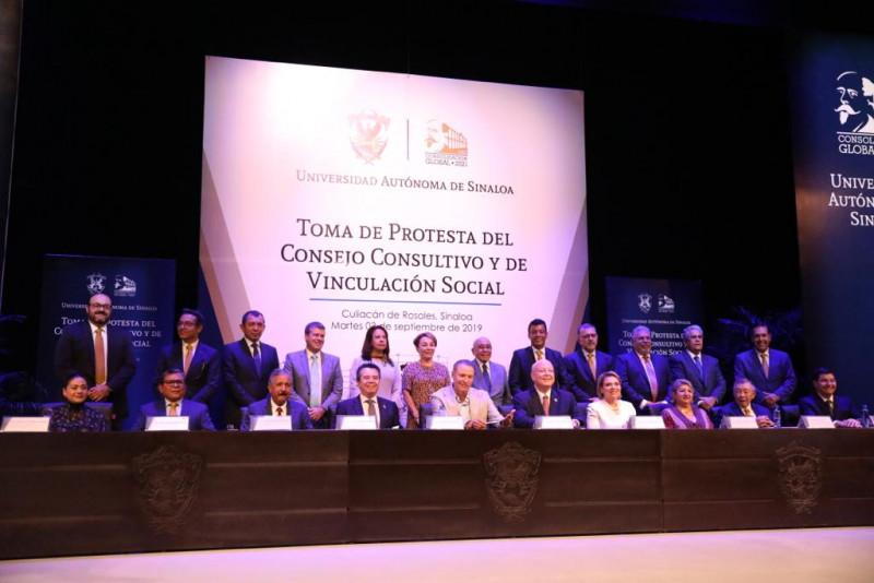 Se instala el Consejo Consultivo de la UAS