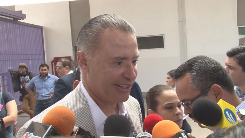 Destaca Quirino Ordaz Coppel  buena relación con AMLO