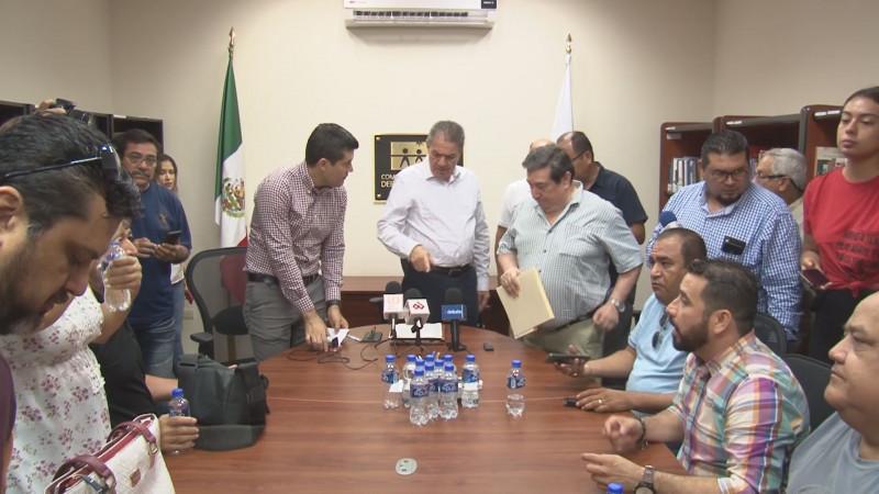 Acepta alcalde de Culiacán Estrada Ferreiro medidas cautelares en su trato con periodistas y comunicadores