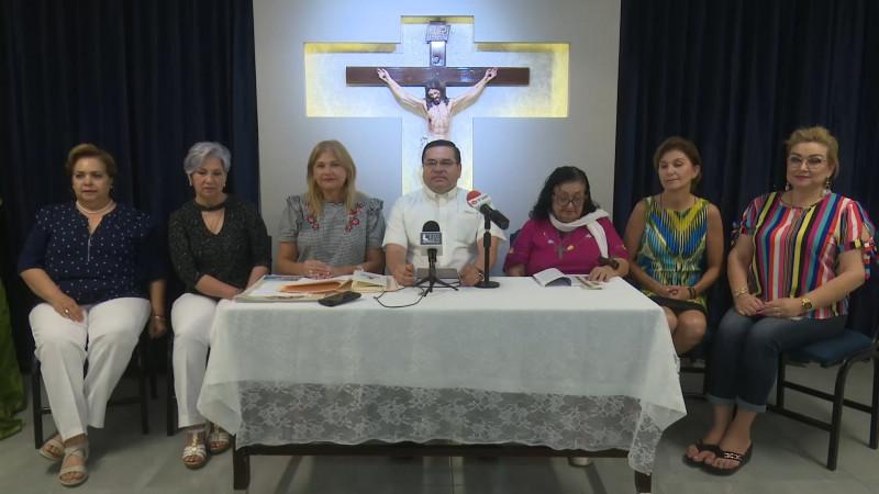 Invita comunidad católica al 'Encuentro Mariano'