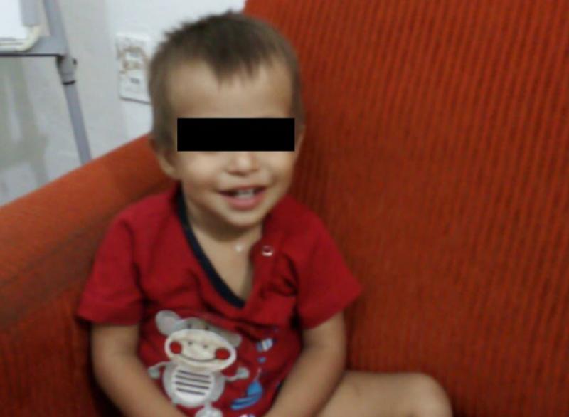 Encuentran a niño de dos años caminando solo en invasión San Antonio