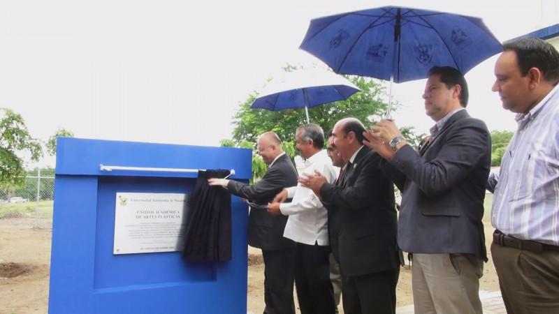 Inauguran instalaciones de la Escuela de Artes Plásticas de la UAS