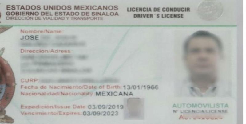 Se expiden nuevas licencias internacionales en Sinaloa: Vialidad