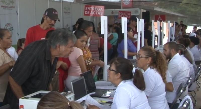 "Jornadas de apoyo ""Puro Sinaloa"" llegan hasta Agua Caliente de Gárate"