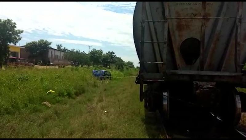 Trenazo en Rosario, una pareja murió