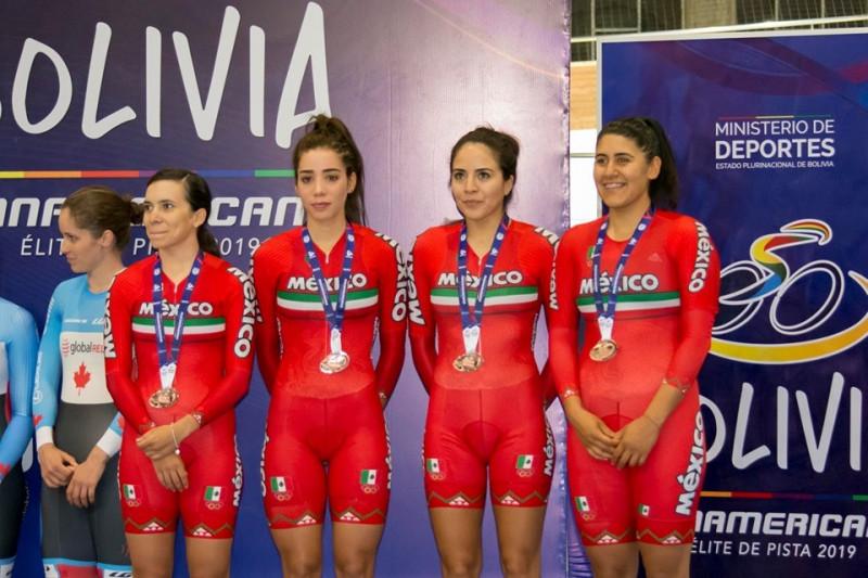 Yareli, Luz faniela y Antonieta brillan en Panamericano de Ciclismo