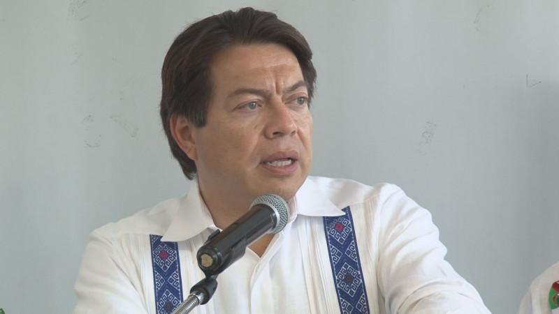 Afirma Mario Delgado que el gobierno federal no tendrá ningún subejercicio