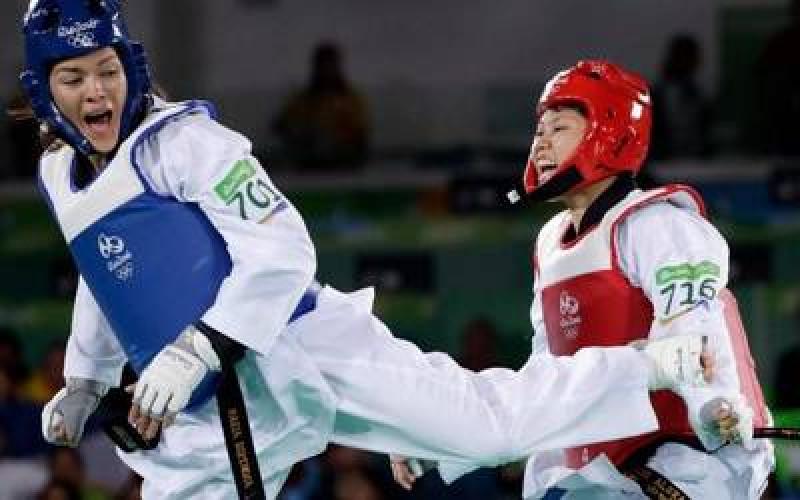 Briseida Acosta y María del Rosario Espinoza entran en acción en el Grand Prix de TKD