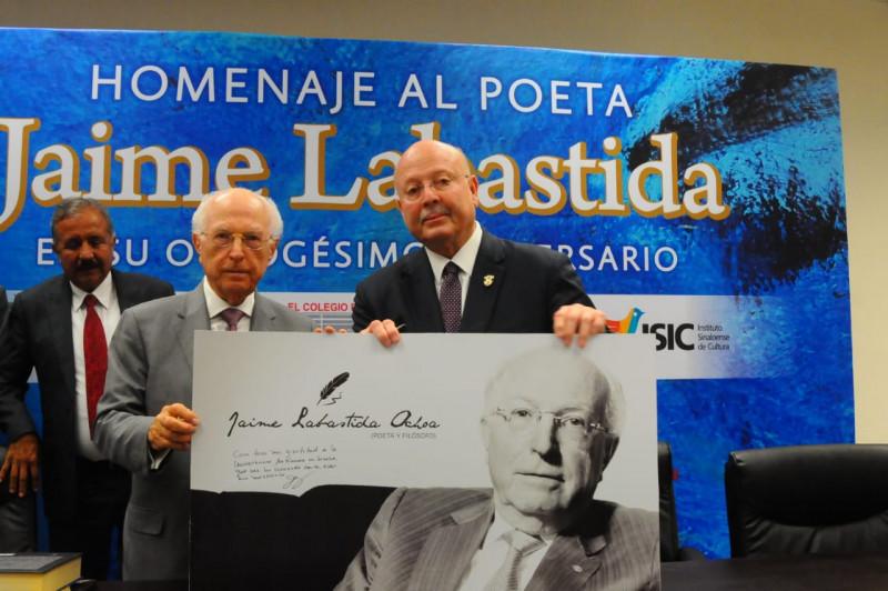 Realiza la UAS homenaje a  Jaime Labastida Ochoa