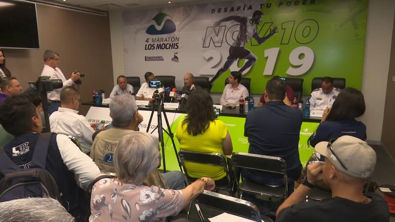 Presentan el Maratón Los Mochis