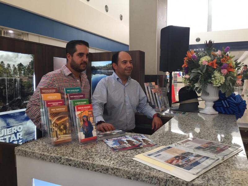 Inauguran módulo turístico de Durango en Mazatlán