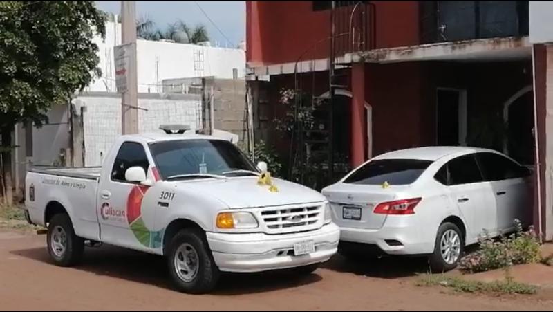 Disparan contra camioneta del Ayuntamiento de Culiacán