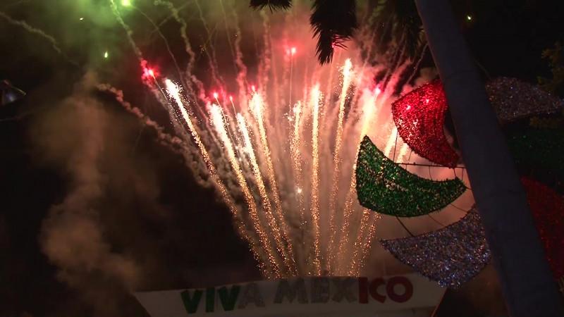 Alcanzan restos de cohetes a niños en festejo patrio