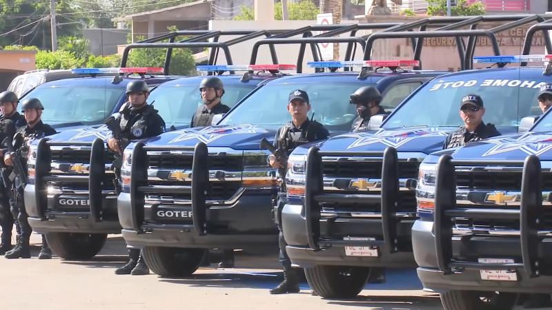 Por llegar las 80 nuevas patrullas