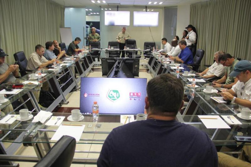 Autoridades de seguridad de E.U visitan Culiacán