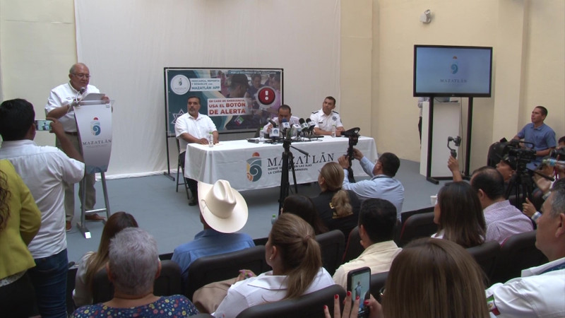 Estrena Mazatlán botón de pánico en aplicación gubernamental