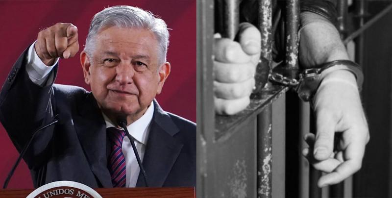 ¿Quiénes podrían salir de la cárcel con la Ley de Amnistía que propone AMLO?
