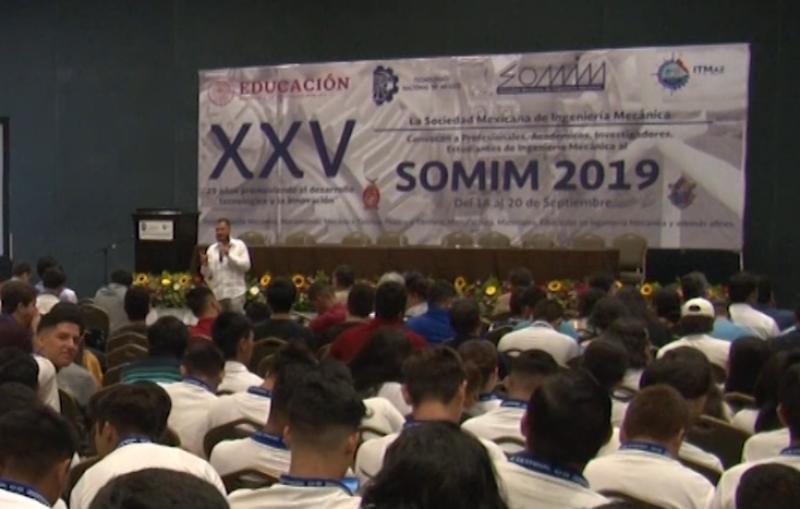 Arranca el XXV Congreso Internacional de SOMIM e ITMAZ