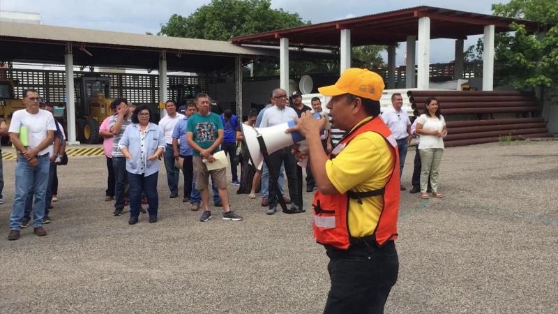 SCT realiza simulacro de búsqueda y rescate en caso de sismo