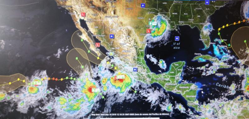 "Se pronostica que tormenta tropical ""Lorena"" evolucione a huracán"