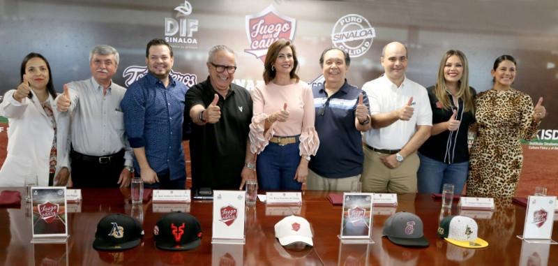 Anuncia DIF Sinaloa 3 juegos con causa con clubes de béisbol