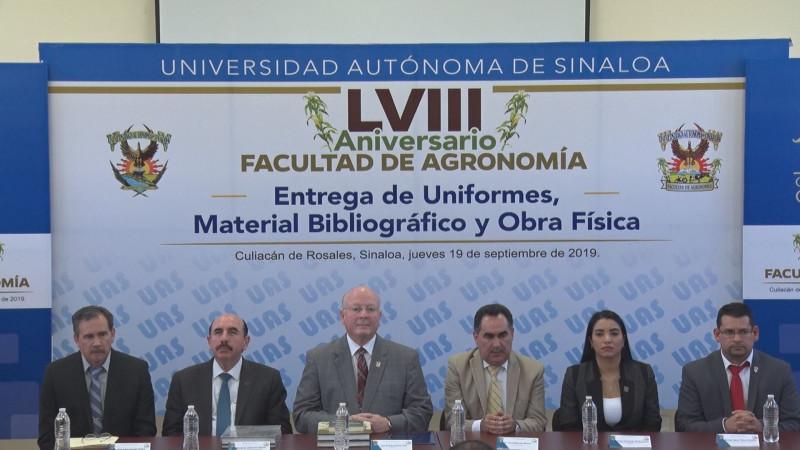 Celebra 58 años la Facultad de Agronomía de la UAS