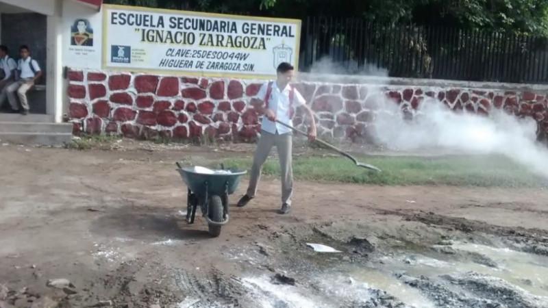 Toman escuelas en la Higuera de Zaragoza