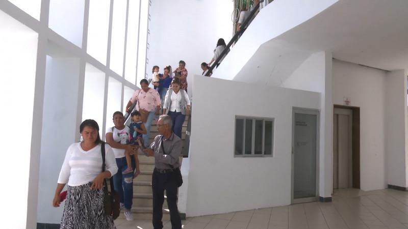 Realizan simulacro de sismo en palacio municipal