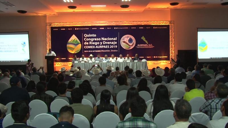 Es Mazatlán sede de Congreso Nacional de Riego y Drenaje