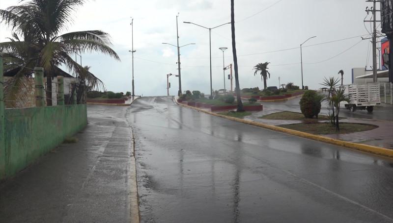 """Afectaciones menores en Mazatlán tras el paso de """"Lorena"""": PC"""