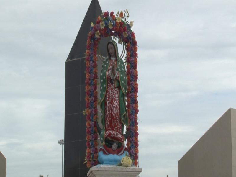 Mazatlecos confían en que Virgen de la Puntilla protegió al puerto