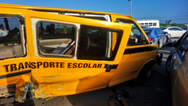 "Era ""Pirata""  transporte escolar que participó en accidente"