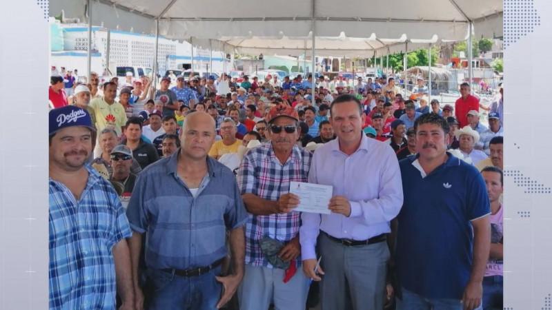 Mas de 26 mil pescadores beneficiados con el Programa de Empleo Temporal