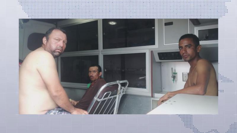 Contentos por haber aparecido los pescadores de Guasave sanos y salvos : Sergio Torres