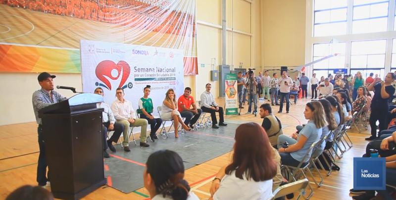 """En Sonora arrancó la Semana Nacional """"Por un Corazón Sano"""""""