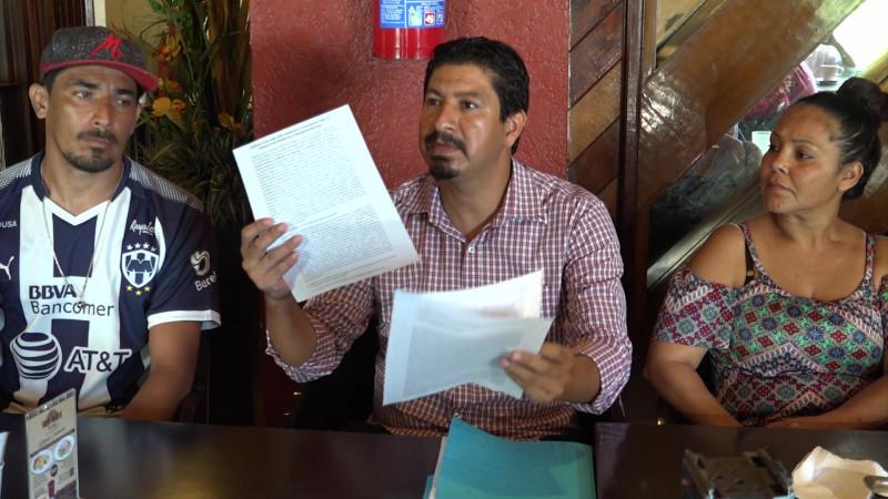 Se dicen víctimas de fraude y extorsión, los desalojados de San Fernando