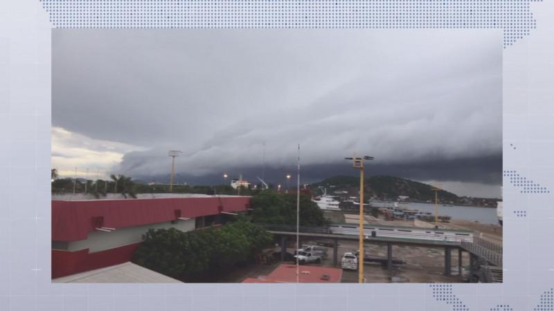 Tormenta Narda podría ingresar durante la madrugada del martes entre Guasave y Ahome