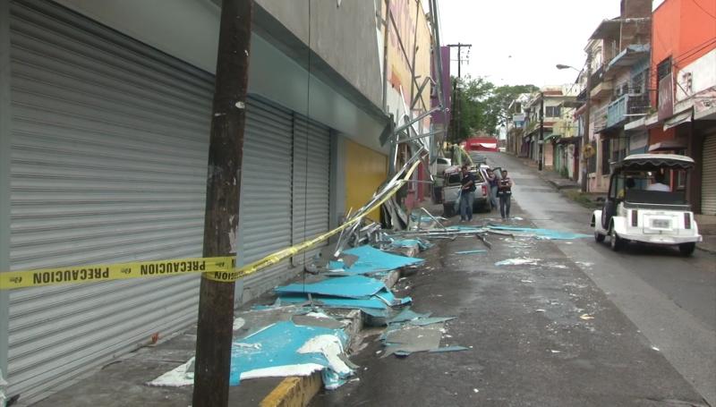 Llama CANACO  a cerrar comercios por lluvias