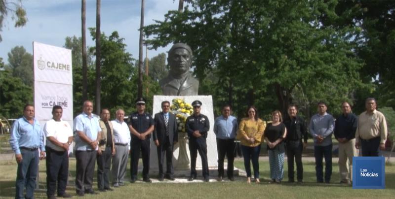 Conmemoraron en Cajeme el 254 aniversario del natalicio de José María Morelos