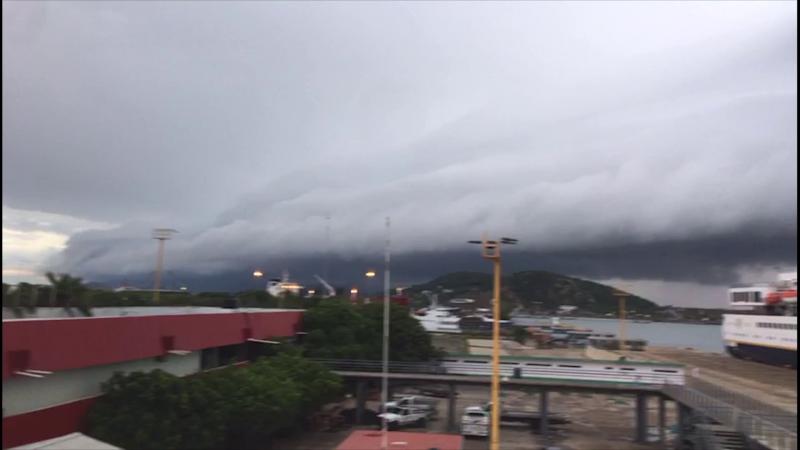 Se pronostican lluvias torrenciales en Sinaloa durante las próximas horas