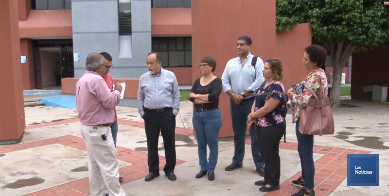 Autoridad y Sindicato del ITESCA van a las negociaciones del Contrato